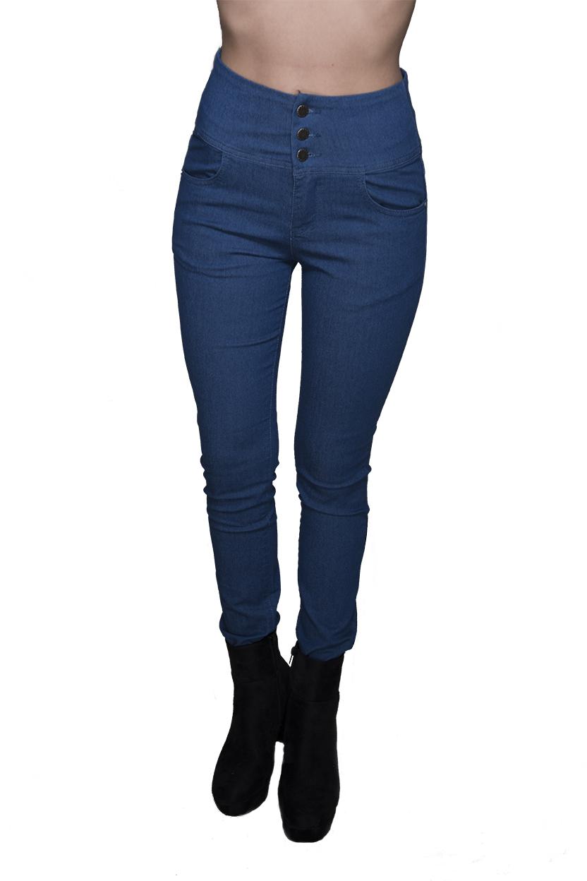 ג'ינס יוני תכלת