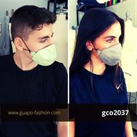 מסכת בד לבנים cotton face mask