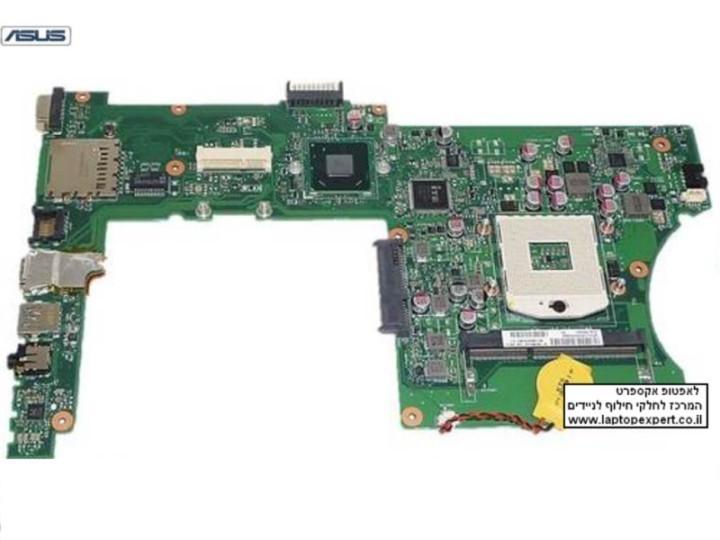 לוח אם להחלפה במחשב נייד אסוס Asus X501 X501A Intel System Motherboard With HDMI - 60-NN0MB1202-A06