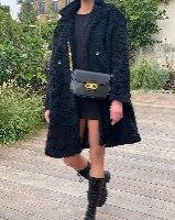 מעיל לוליטה שחור