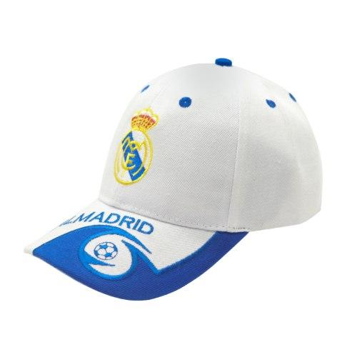 כובע מצחייה לבן ריאל מדריד