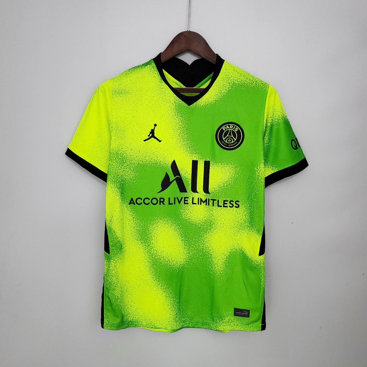 חולצת אוהד פריז סן ז רמן רביעית ירוקה 20 21 Fanshop