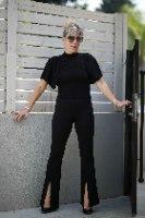 מכנס דיסקו שחור