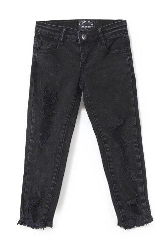 ג'ינס קרעים שחור