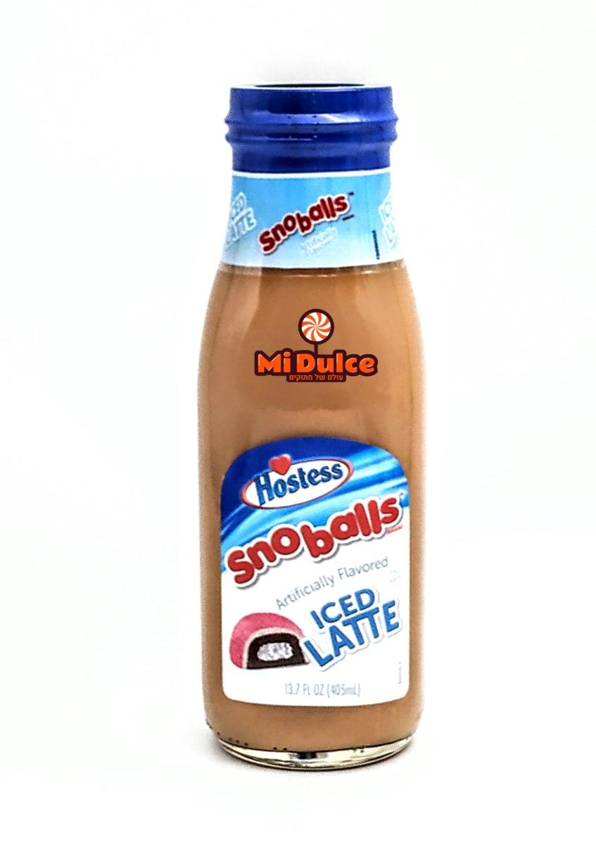 אייס קפה בטעם Sno Balls מרשמלו קוקוס