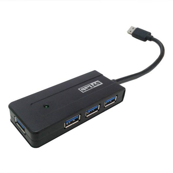 מפצל ST-LAB ST-U-930 USB 3.0 4-Port Hub
