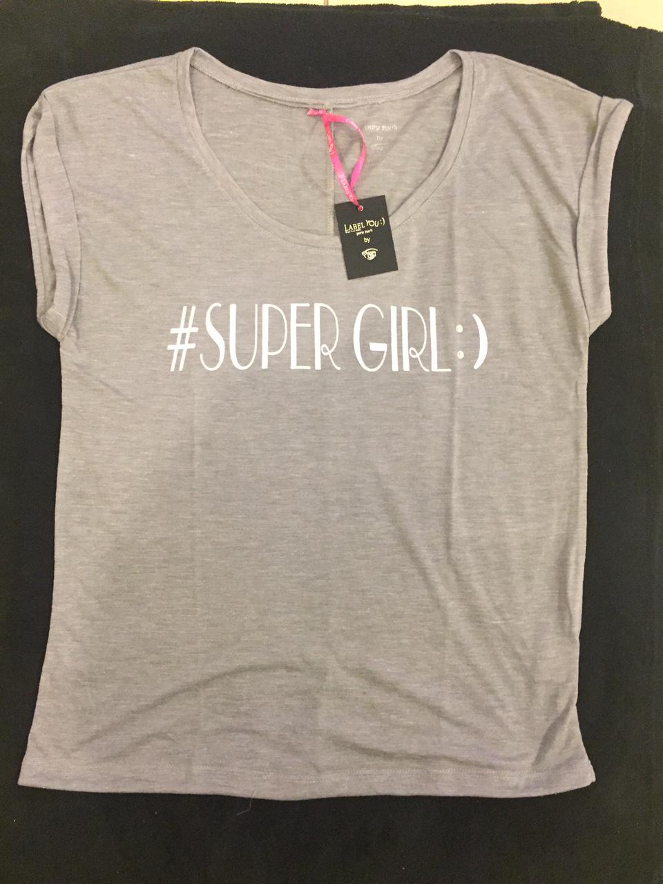 חולצות העצמה SUPERGIRL
