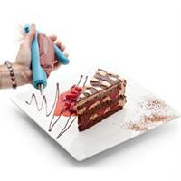 מעצב, מזלף ומשרטט קישוטים לעוגות