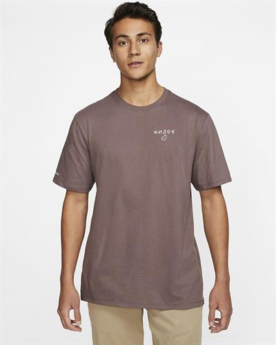 HURLEY SURF & ENJOY T-SHIRT-PLUM ECLIPSE