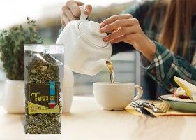 גסטT - זוג תערובות צמחים לחליטה לכאבי בטן
