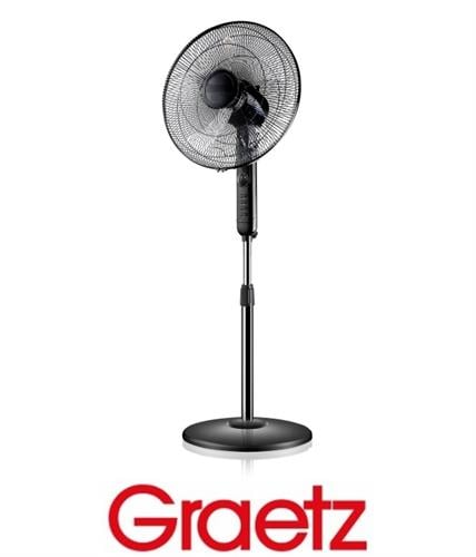 "Graetz מאוורר ""16 עמוד + טיימר דגם GRS338"