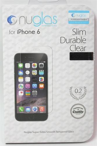 """מגן מסך ל iphone 6 מזכוכית מחוסמת 0.2 מ""""מ הכי דק - jeeper"""