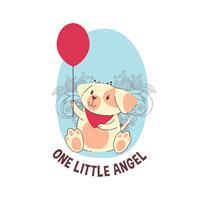 בגד גוף לתינוק One Little Angel