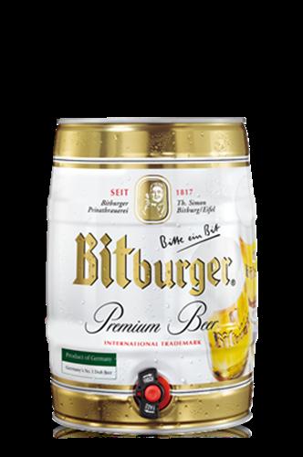בירה ביטבורגר מיני חבית 5 ליטר