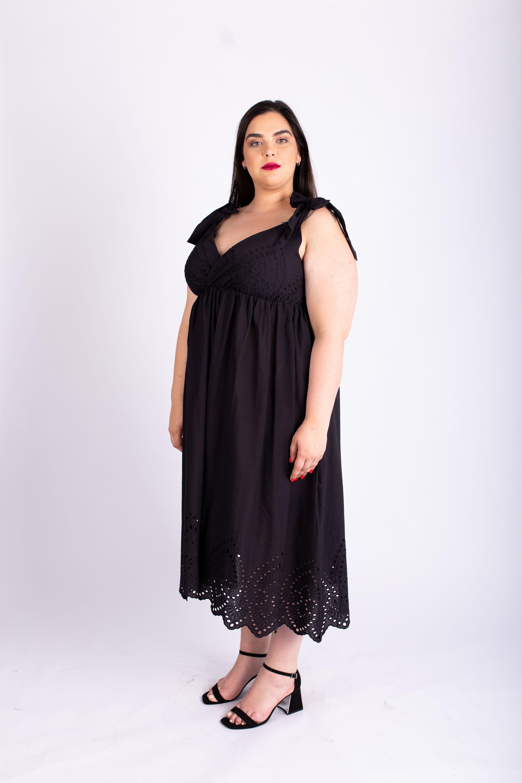 שמלת אמה שחורה