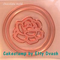ROSE COIN - CHOCOLATE FORM