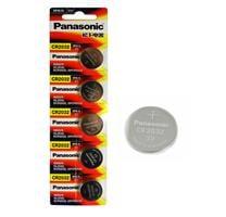 מארז 5 סוללות איכותיות-cr2032-3v של פנסוניק/panasonic