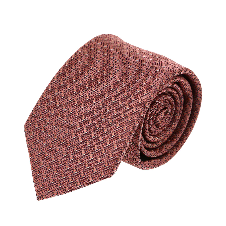 עניבה שתי וערב כתום