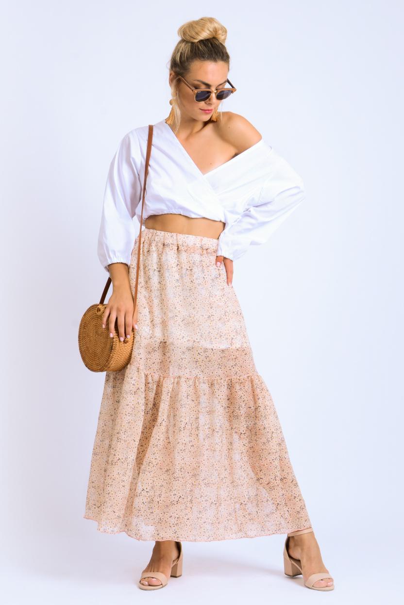 חצאית שיפון דריה