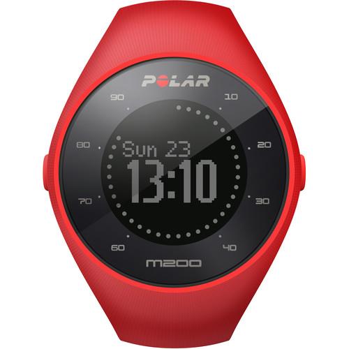 שעון ספורט M200 Polar, שעון ריצה עם GPS מובנה ומדידת דופק מפרק כף היד