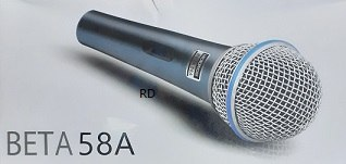 מיקרופון דינמי BETA  58A לקסס LM-250