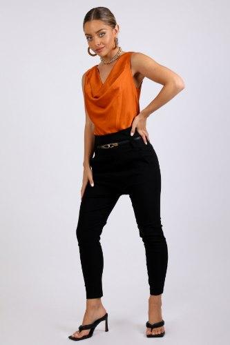 מכנס בויפרנד מחטב שחור /אפור/חום