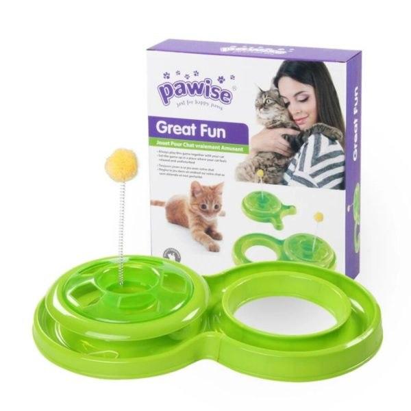 Pawise צעצוע איטראקטיבי לחתולים,