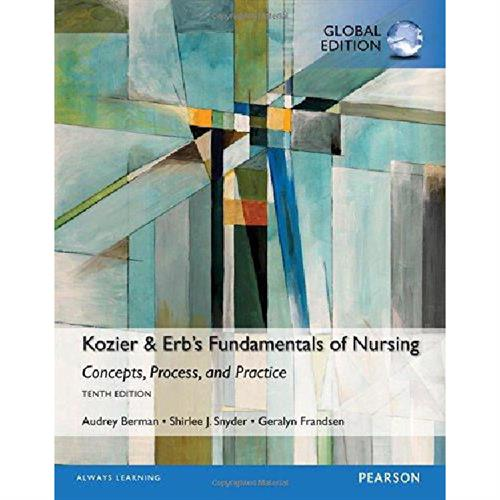 Kozier & Erb´s Fundamentals of Nursing