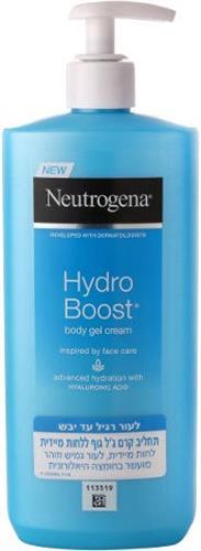 הידרו בוסט קרם ג'ל גוף לעור רגיל עד יבש במשאבה  Neutrogena