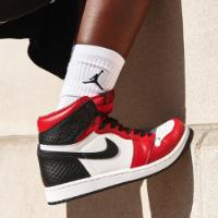 Nike Air Jordan 1 High Satin Snake