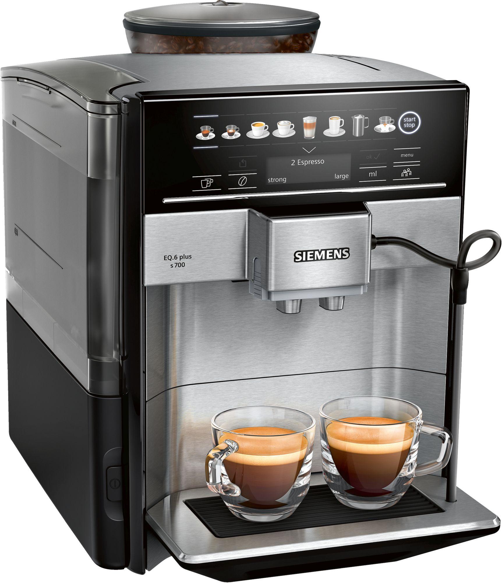 מכונת קפה מקצועית EQ.6 plus series 700 Siemens סימנס TE657313RW