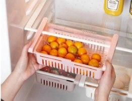 מגירת אחסון אוניברסלית נשלפת למקרר