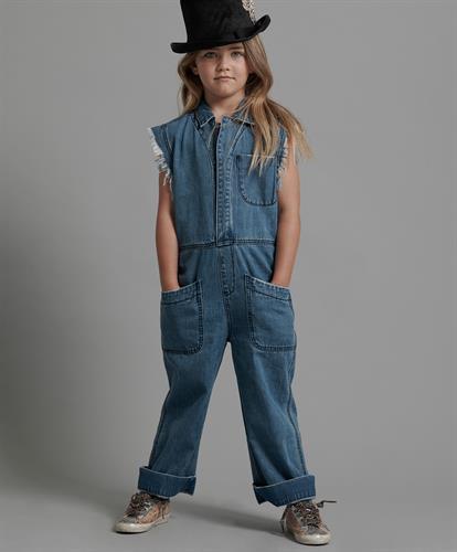 אוברול ג׳ינס ארוך