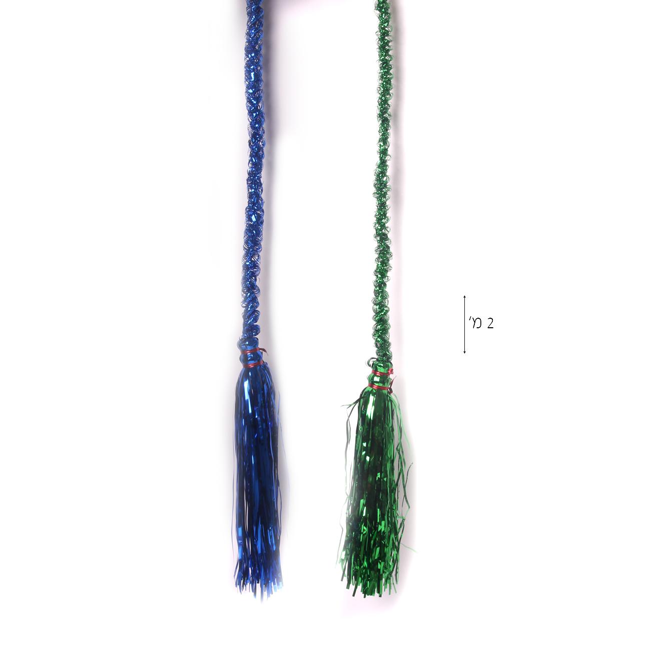 גרילנד חבל 2 מטר מעורב צבעים