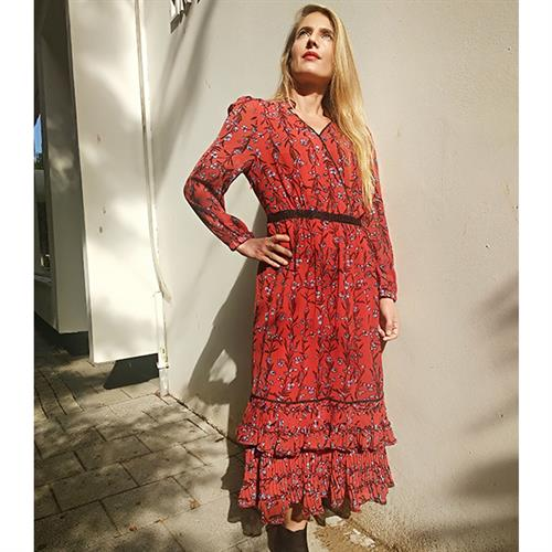 שמלת שיינה אדומה