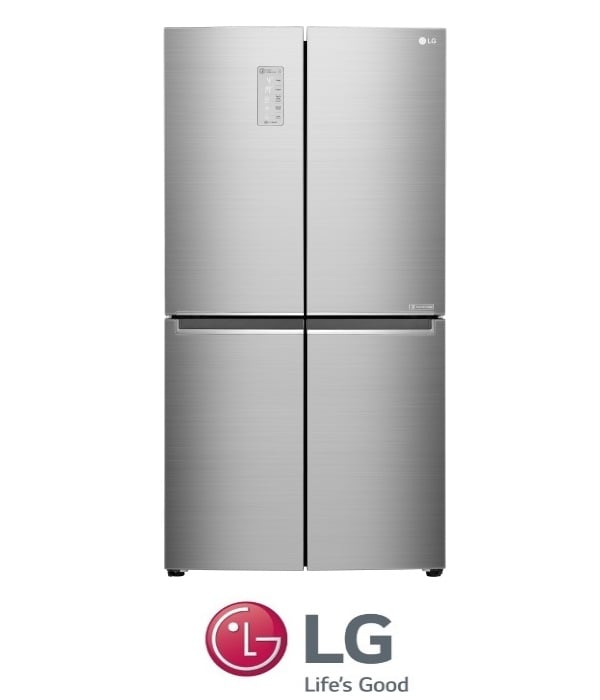 LG מקרר 4 דלתות דגם GRB909S