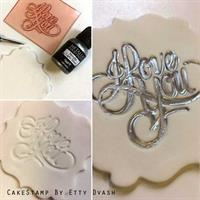 Love - set of three stamps