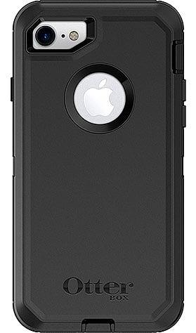 כיסוי קשיח defender otterbox צבע שחור לאייפון 7