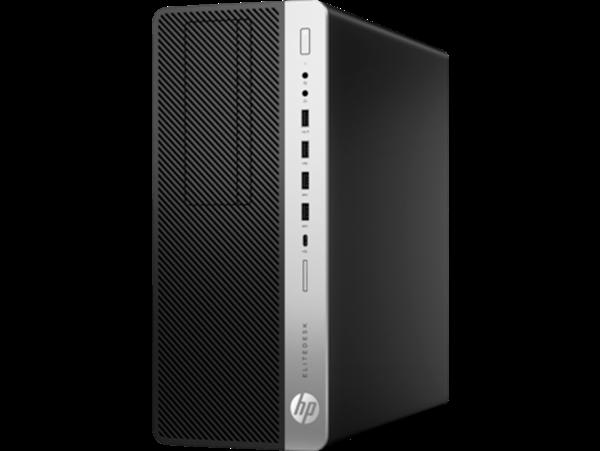 מחשב Intel Core i7 HP EliteDesk 800 G5 Tower 7QN21EA 7QN21EA#ABT Mini PC