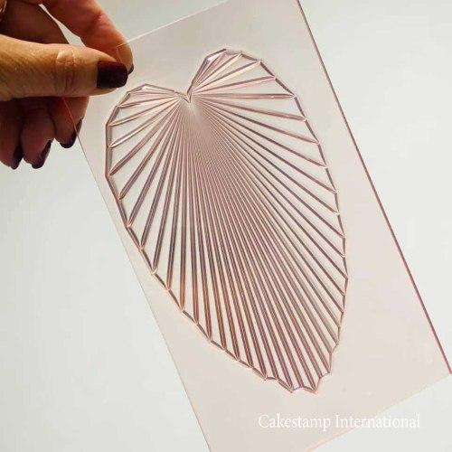 Maldives Leaves | SUMMER CAKE | Flexible Polymer Mold