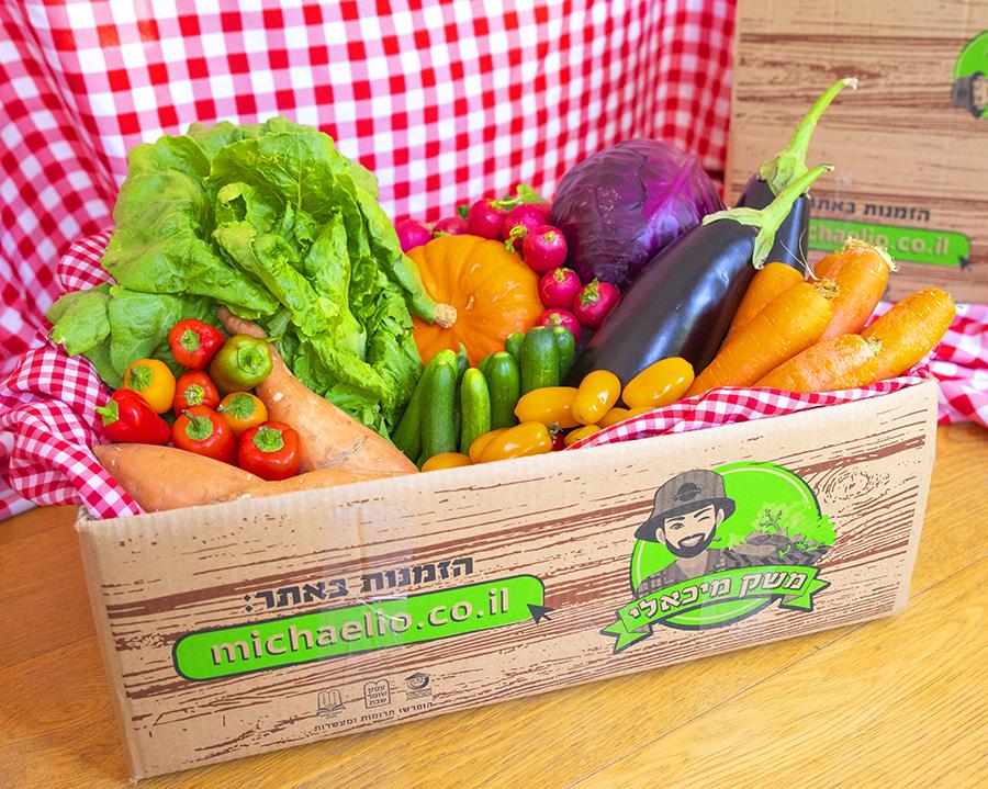סל ירקות ופירות מפנק