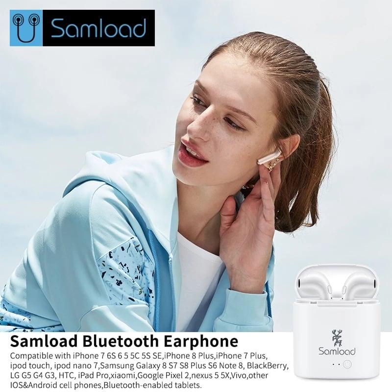 אוזניות בלוטוס של חברת Samload