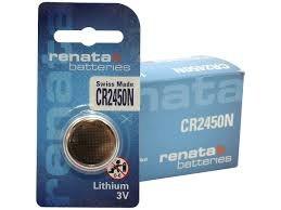 סוללות ליטיום 4 יחידות RENATA LITHIUM CR2450N