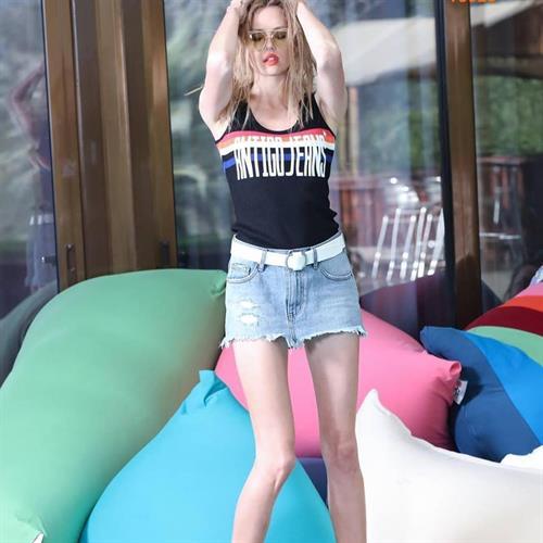 חצאית ג'ינס דרטי ANTIGO