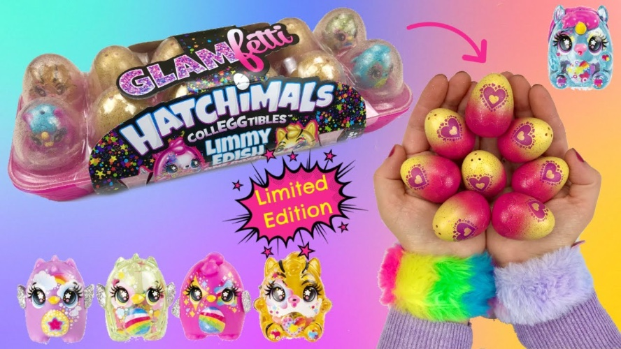 Hatchimals- glam fetti