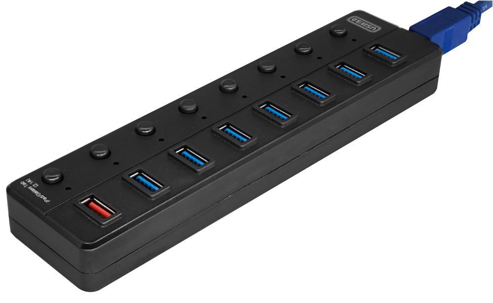 מפצל USB 8 יציאות USB 3