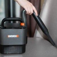 שואב אבק נייד לרכב worx