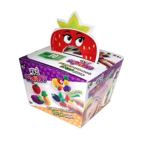 מיני ממתקים מבצק סוכר דגם ירקות ופירות - יוצרים משחקים ואוכלים