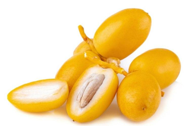 תמר ברהי צהוב אורגני על סנסנים - 800 גרם