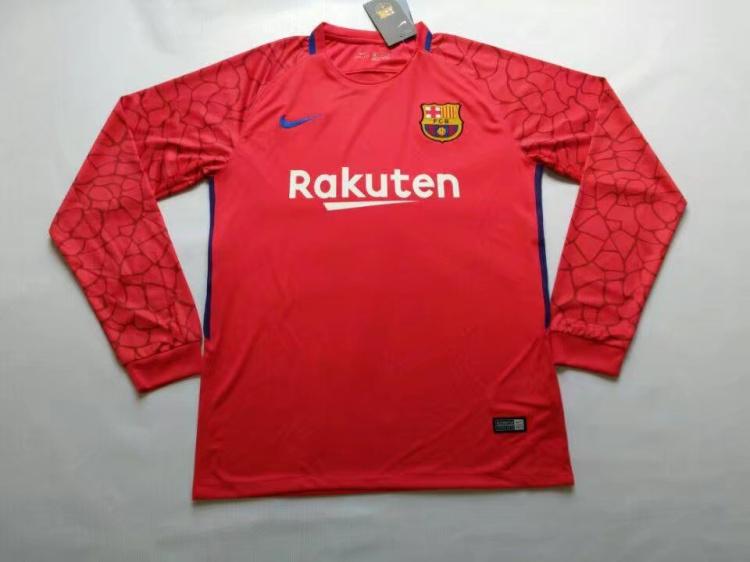 חליפת שוער ברצלונה ( חולצה ארוכה)